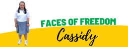 Faces of Freedom - Cassidy header