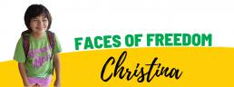Faces of Freedom - Christina header