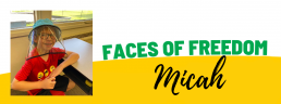 Faces of Freedom - Micah