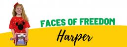 Faces of Freedom - Harper header image
