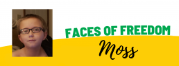 Faces of Freedom - Moss
