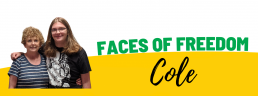 Faces of Freedom - Cole top