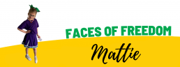 Faces of Freedom - Mattie top image