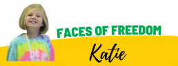 Faces of Freedom - Katie header