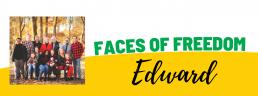 Faces of Freedom - Edward header image