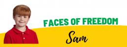 Faces of Freedom - Sam