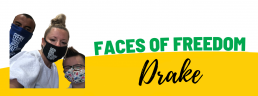 Faces of Freedom - Drake header image