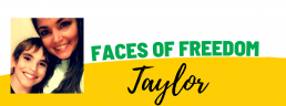 Faces of Freedom - Taylor header image