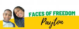 Faces of Freedom - Payton