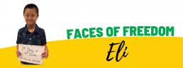 Faces of Freedom - Eli subhead