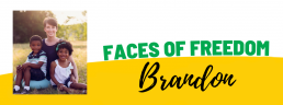 Faces of Freedom - Brandon
