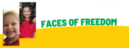 Faces of Freedom - Tiffany's family header