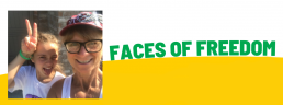 Faces of Freedom - Victoria top