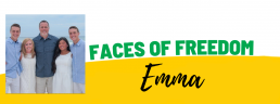 Faces of Freedom - Emma