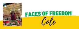 Faces of Freedom - Cole