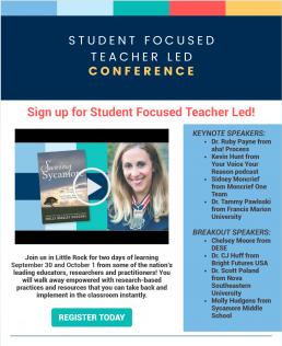 September Student Focused Teacher Led