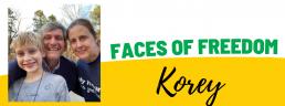 Faces of Freedom - Korey