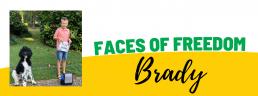 Faces of Freedom - Brady